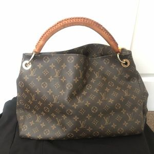 Louis Vuitton Brown Monogram Artsy MM